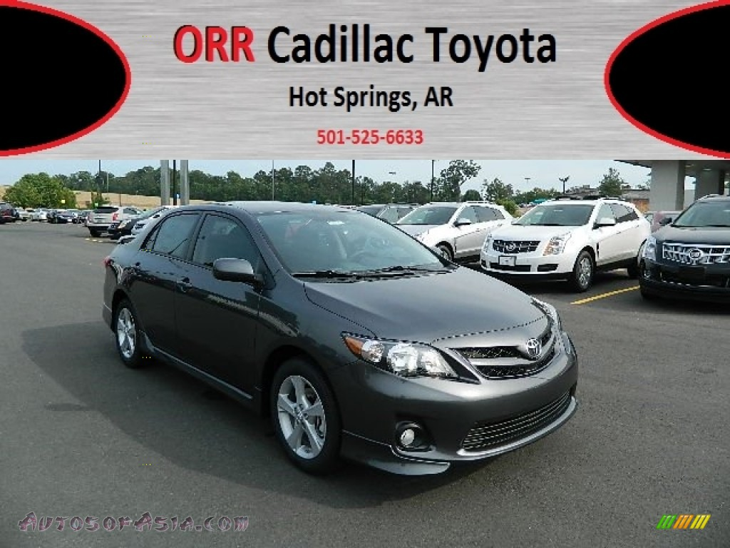 2012 toyota corolla s in magnetic gray metallic 030828 autos of asia japanese and korean. Black Bedroom Furniture Sets. Home Design Ideas