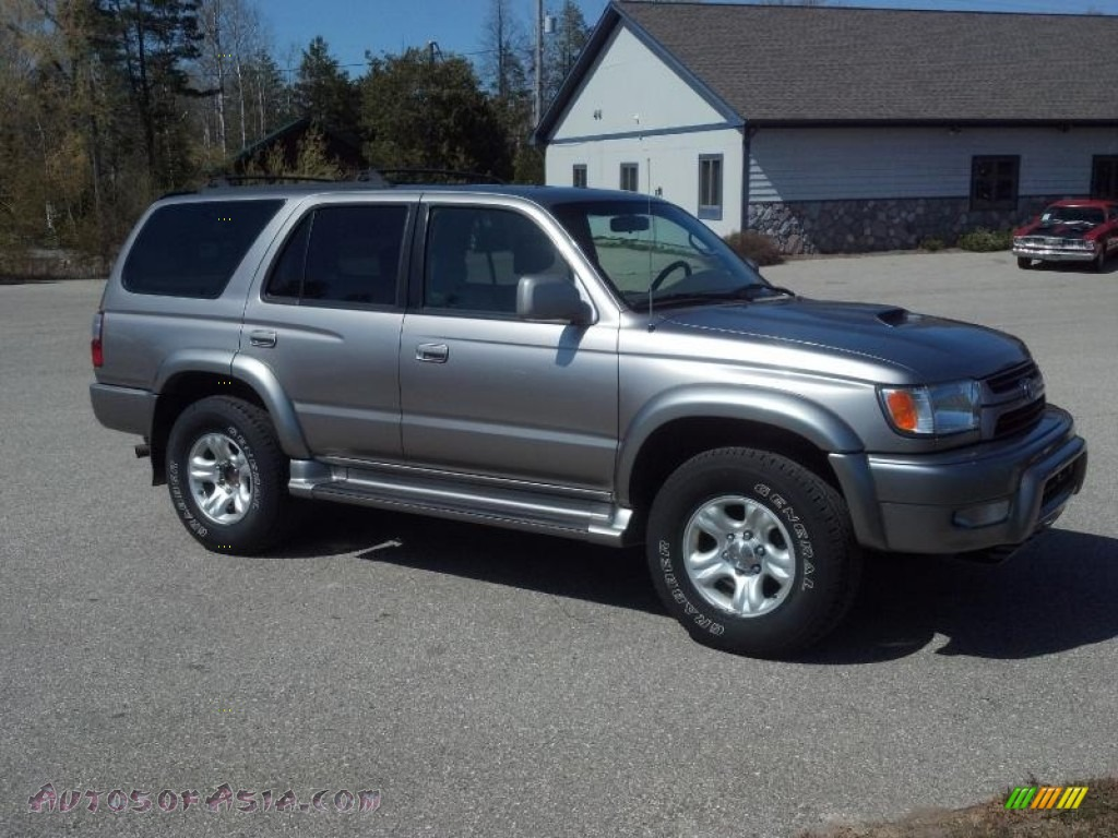 2002 toyota 4runner sport edition 4x4 in thunder cloud metallic 384304 autos of asia. Black Bedroom Furniture Sets. Home Design Ideas