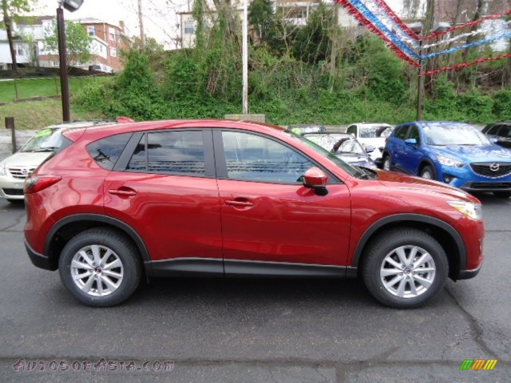 2013 mazda cx 5 touring in zeal red mica photo 6 111707 autos of asia japanese and korean. Black Bedroom Furniture Sets. Home Design Ideas