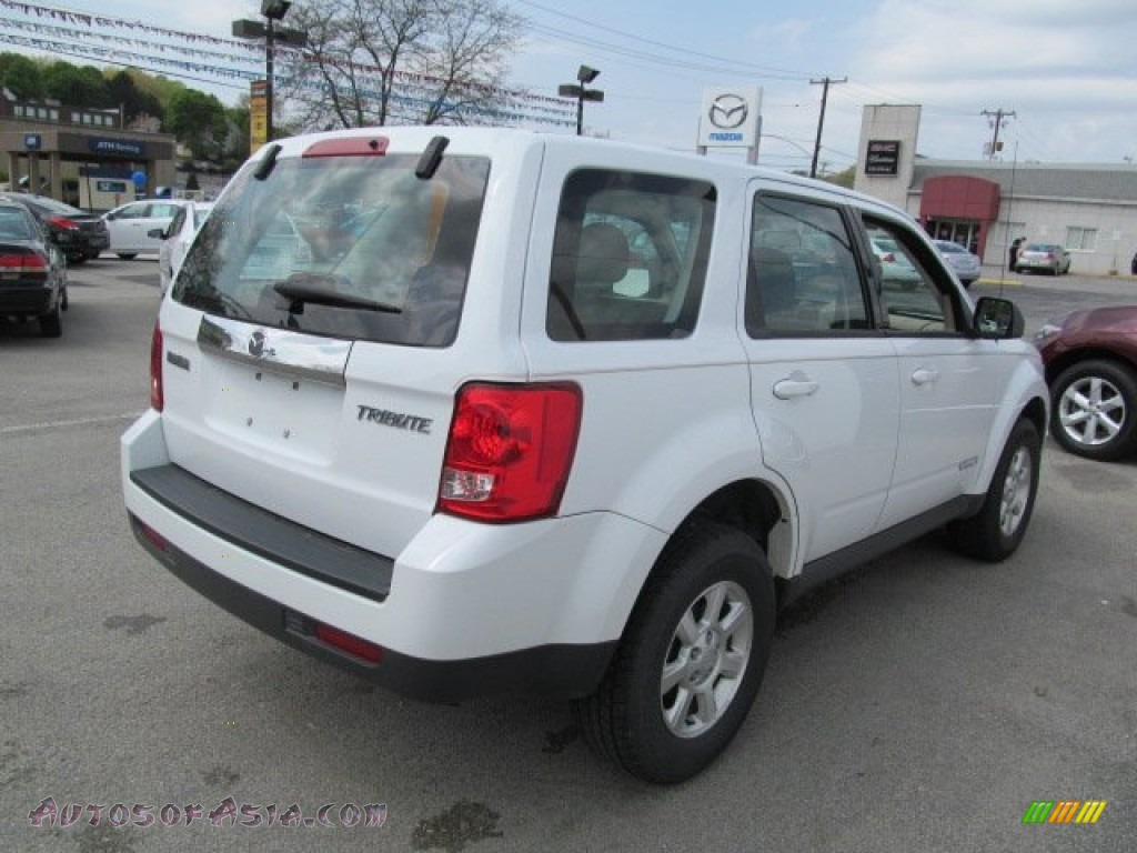 2008 mazda tribute i sport 4wd in classic white photo 6 for Colonial motors indiana pa