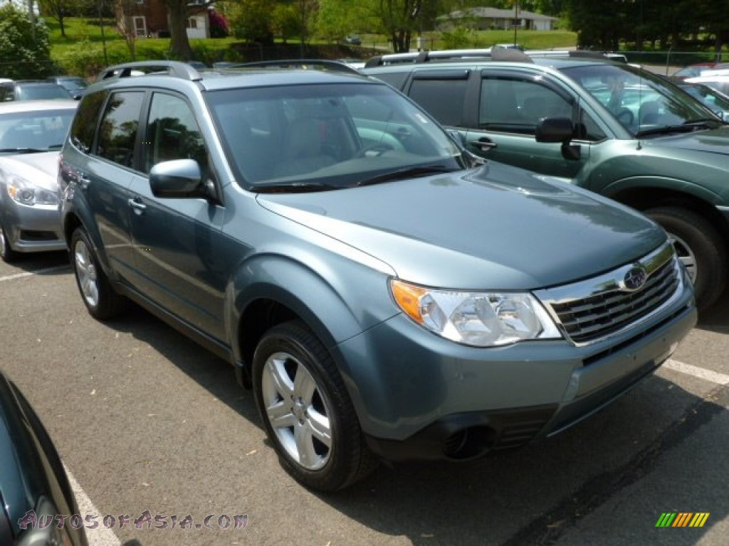 2009 subaru forester 2 5 x premium in sage green metallic 734023 autos of asia japanese. Black Bedroom Furniture Sets. Home Design Ideas