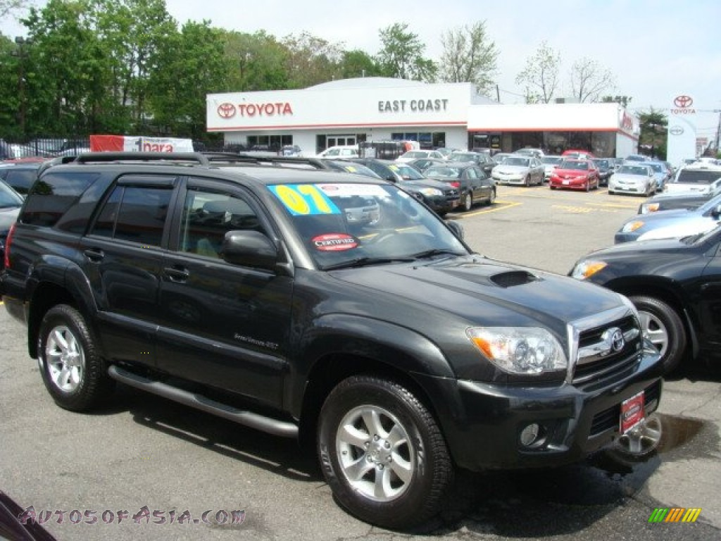 2007 Toyota 4runner Sport Edition 4x4 In Shadow Mica