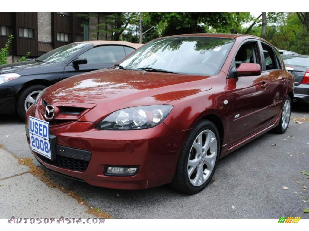 2008 mazda mazda3 s touring hatchback in copper red mica 133368 autos of asia japanese and. Black Bedroom Furniture Sets. Home Design Ideas