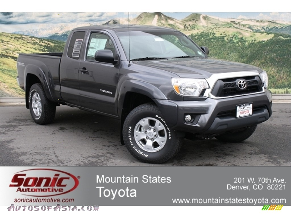 2012 toyota tacoma v6 trd access cab 4x4 in magnetic gray mica 040586 autos of asia. Black Bedroom Furniture Sets. Home Design Ideas