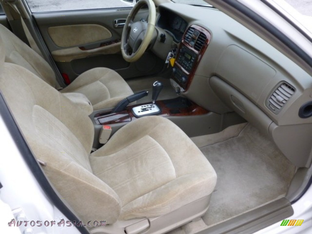 2002 hyundai sonata gls v6 in noble white photo 3 669603 autos of asia japanese and korean cars for sale in the us autos of asia