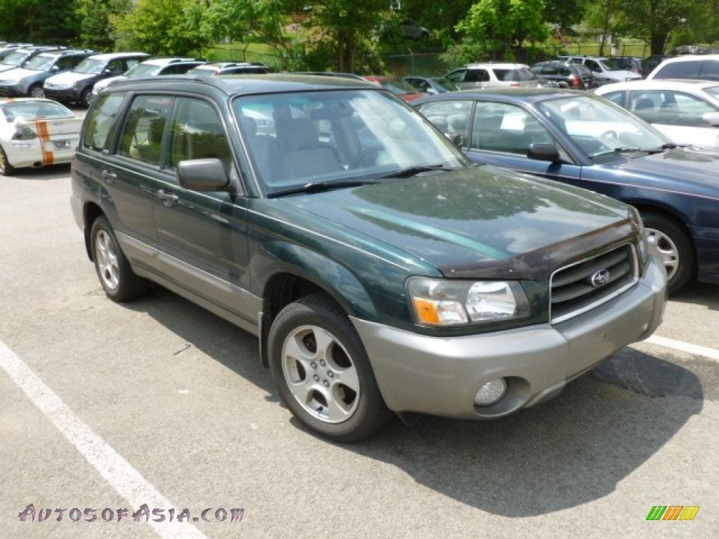 2004 subaru forester 2 5 xs in woodland green pearl for Woodland motors phone number