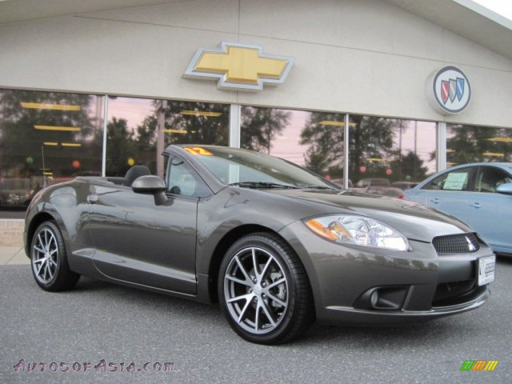 2012 mitsubishi eclipse spyder gs sport in carbon pearl 002264 autos of asia japanese and. Black Bedroom Furniture Sets. Home Design Ideas