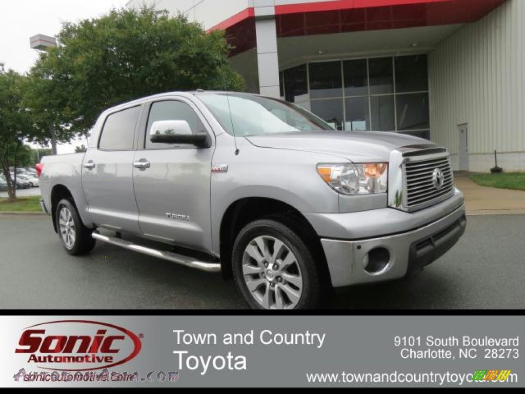 2010 toyota tundra platinum crewmax 4x4 in silver sky metallic 132978 autos of asia. Black Bedroom Furniture Sets. Home Design Ideas