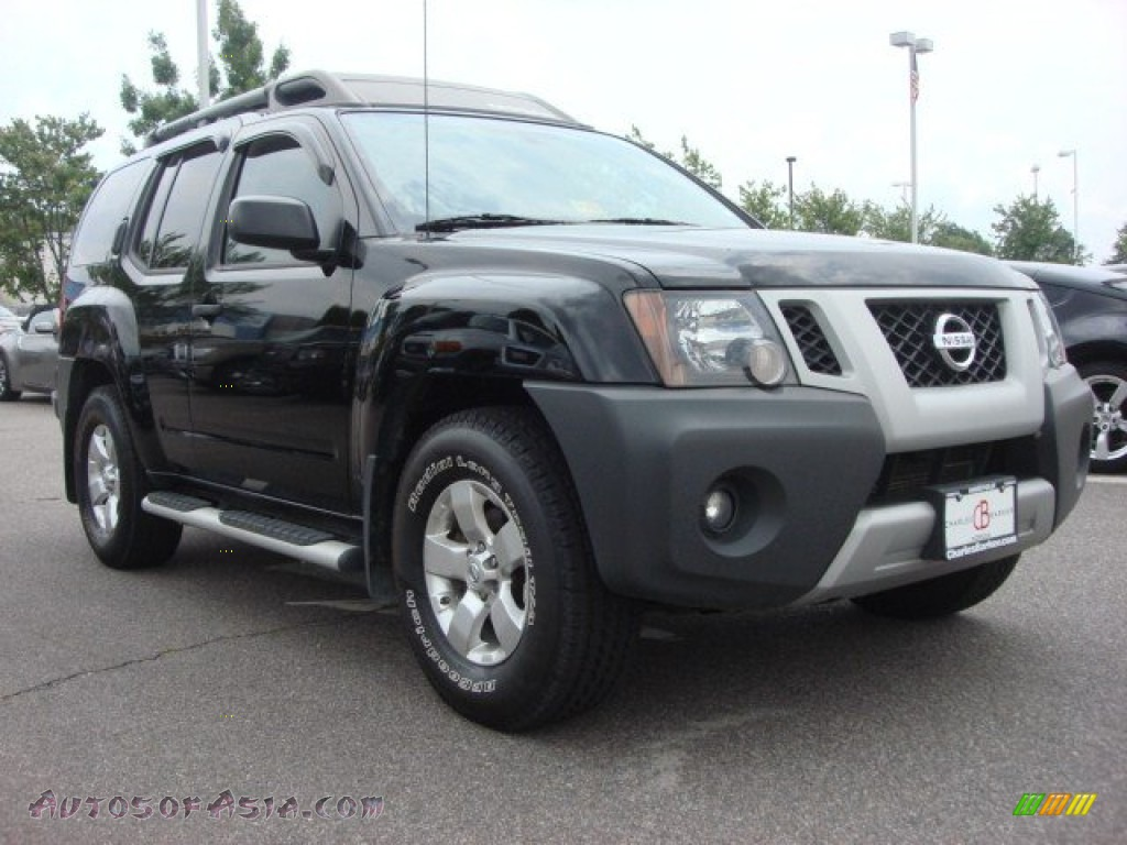 2010 nissan xterra s in super black 520396 autos of asia japanese and korean cars for sale. Black Bedroom Furniture Sets. Home Design Ideas