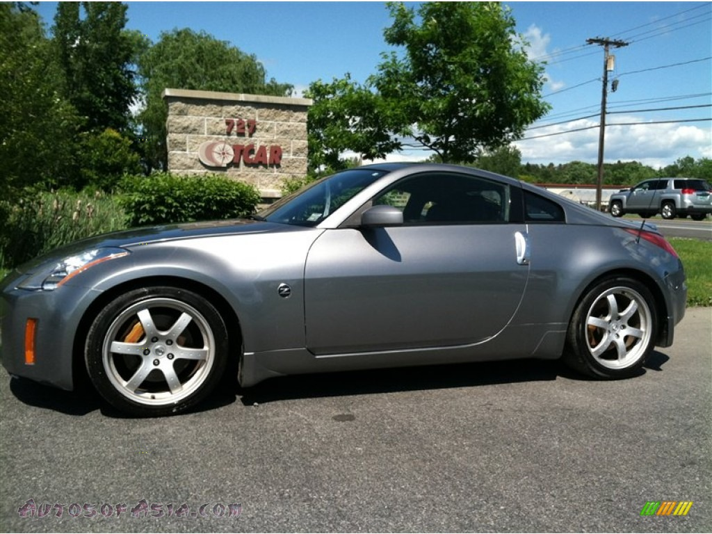 2003 Nissan 350z Track Coupe In Silverstone Metallic