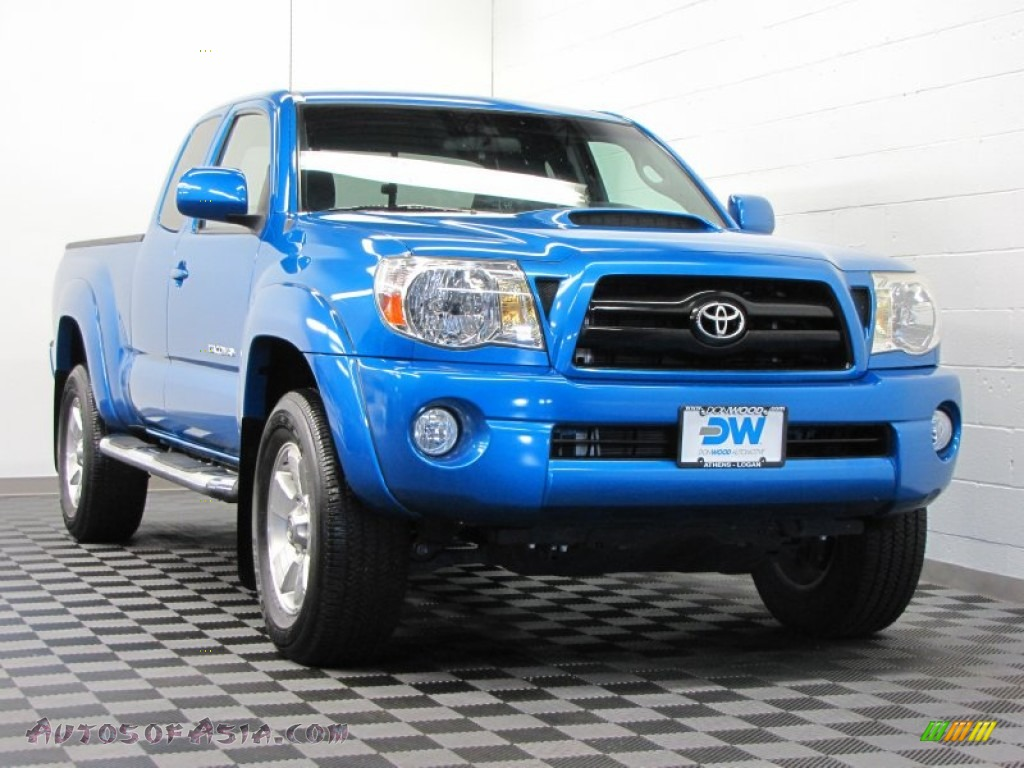 2008 toyota tacoma v6 trd sport access cab 4x4 in speedway blue 513346 autos of asia. Black Bedroom Furniture Sets. Home Design Ideas
