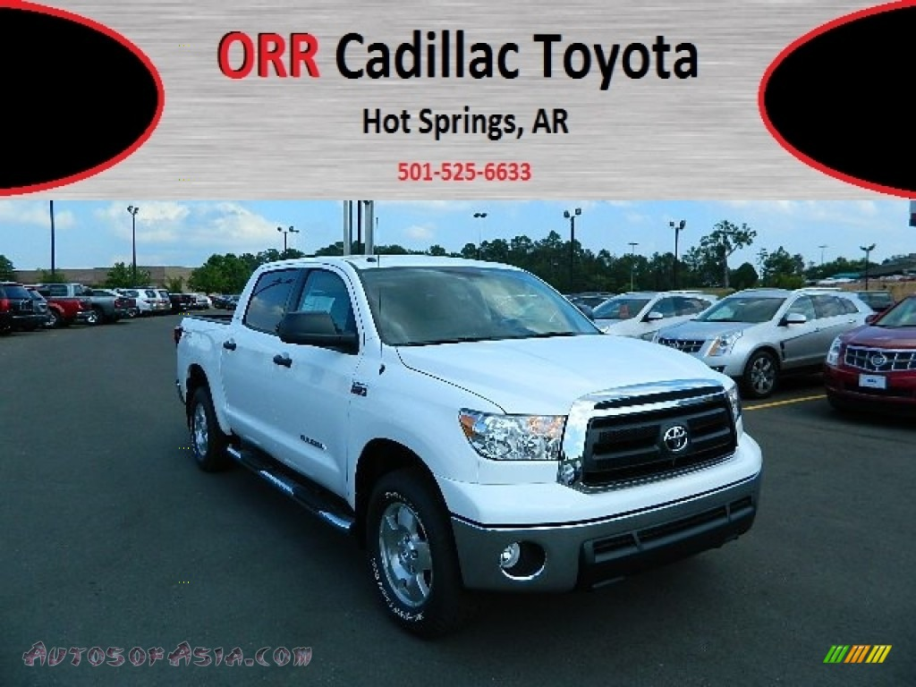 2012 toyota tundra sr5 trd crewmax 4x4 in super white 250767 autos of asia japanese and. Black Bedroom Furniture Sets. Home Design Ideas