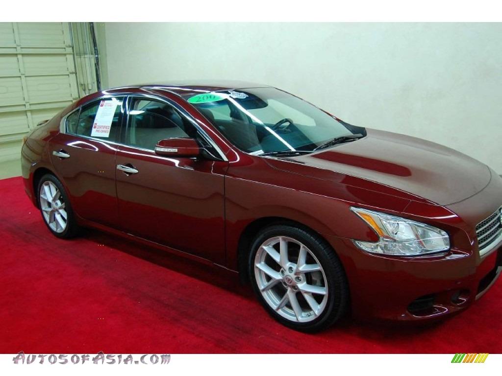 2009 Nissan Maxima For Sale In Houston Tx: 2009 Nissan Maxima 3.5 SV Sport In Tuscan Sun Metallic