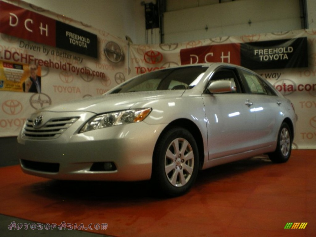 2008 toyota camry xle v6 in classic silver metallic 058340 autos of asia japanese and. Black Bedroom Furniture Sets. Home Design Ideas