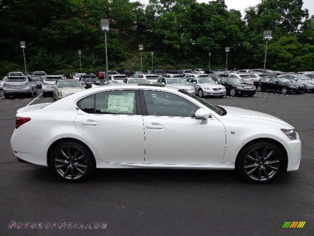 2013 lexus gs 350 awd f sport in starfire white pearl photo 5 002817 autos of asia. Black Bedroom Furniture Sets. Home Design Ideas