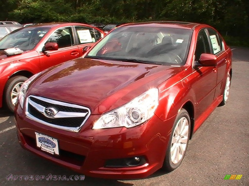 2012 subaru legacy limited in venetian red pearl 042323 autos of asia japanese and. Black Bedroom Furniture Sets. Home Design Ideas