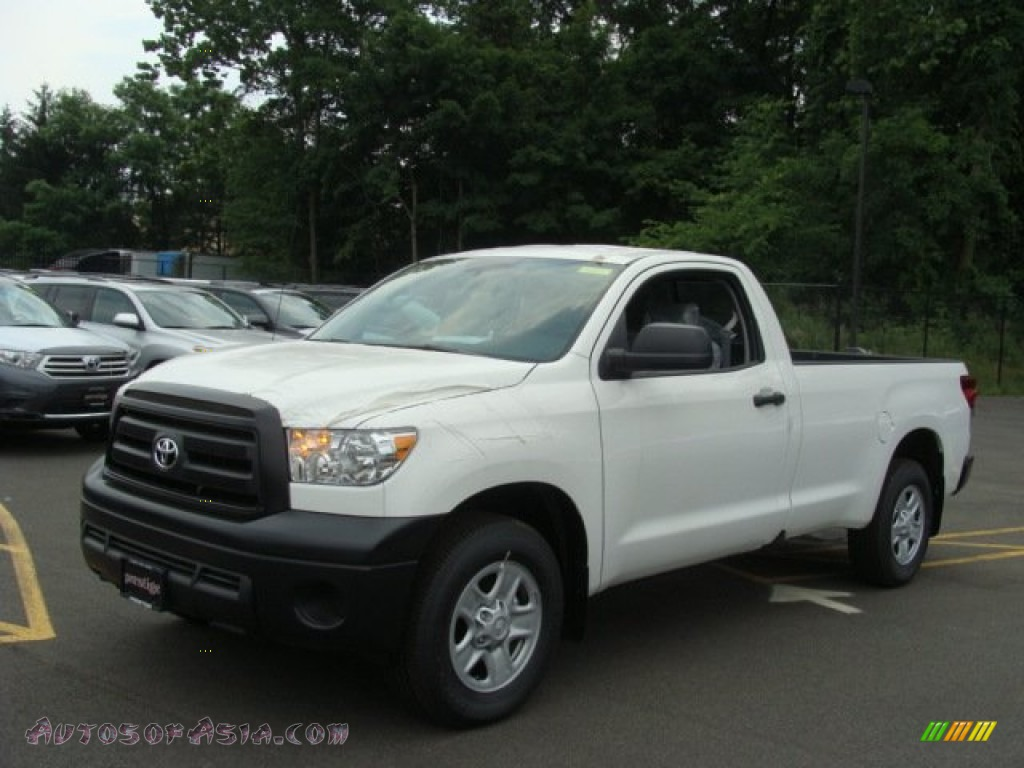 2012 toyota tundra regular cab in super white photo 3 027160 autos of asia japanese and. Black Bedroom Furniture Sets. Home Design Ideas