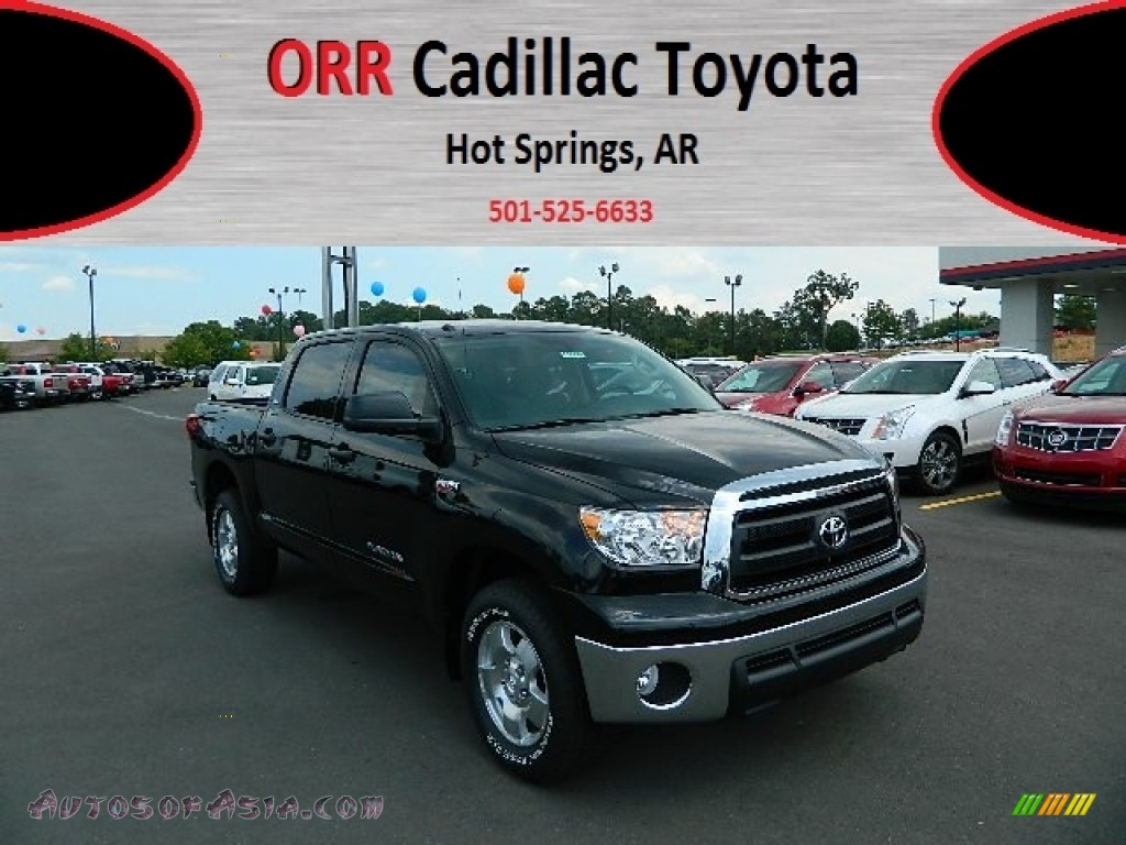 2012 toyota tundra trd crewmax 4x4 in black 257767 autos of asia japanese and korean cars. Black Bedroom Furniture Sets. Home Design Ideas