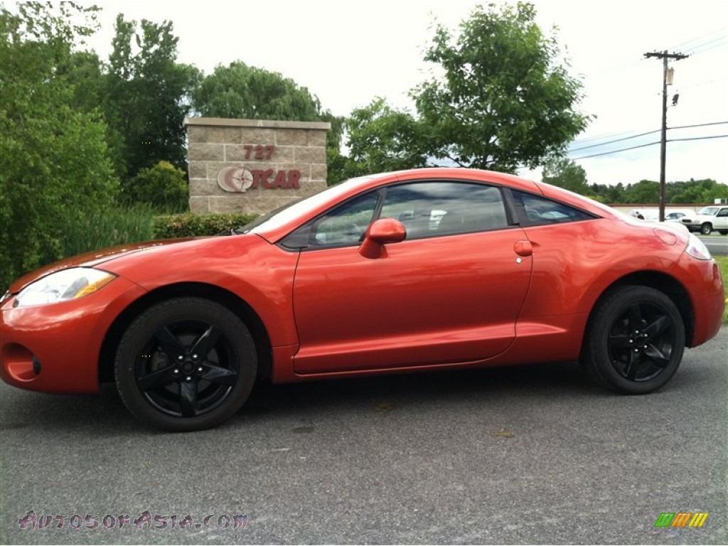 2008 Mitsubishi Eclipse Gs Coupe In Sunset Orange