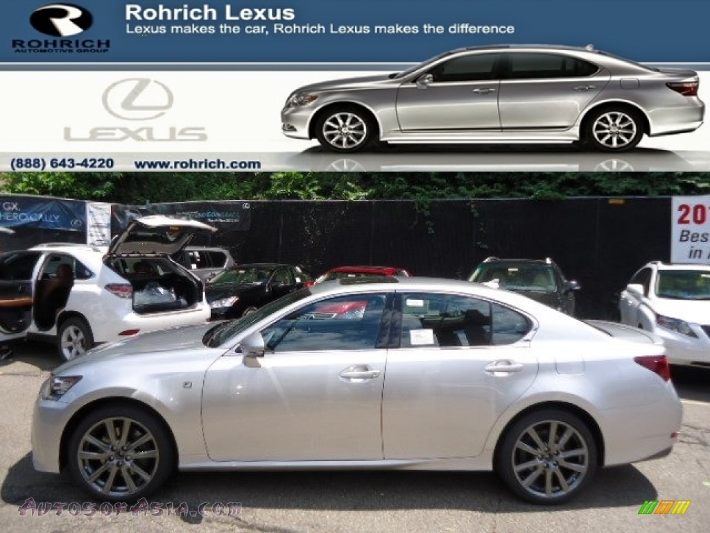 2013 lexus gs 350 awd f sport in liquid platinum 007752 autos of asia japanese and korean. Black Bedroom Furniture Sets. Home Design Ideas