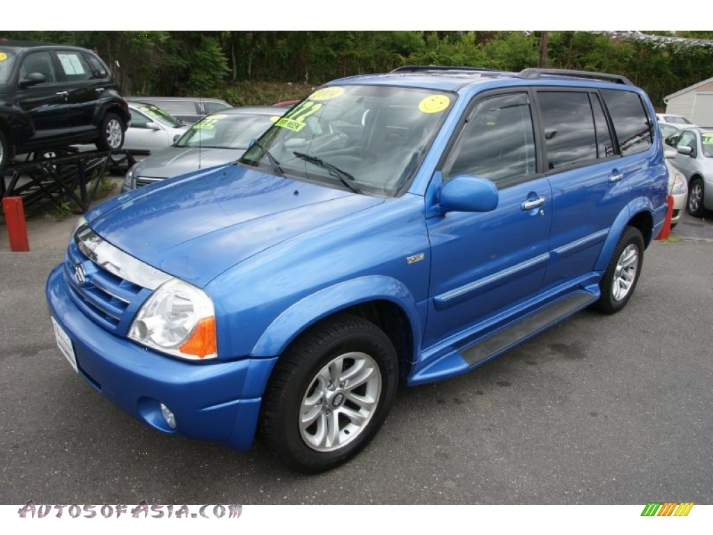 2004 Suzuki Xl7 Ex 4x4 In Cosmic Blue Metallic 101363 Autos Of Asia Japanese And Korean