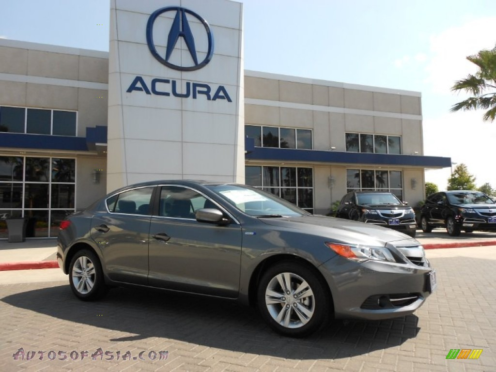 2013 Acura Ilx 1 5l Hybrid Technology In Polished Metal