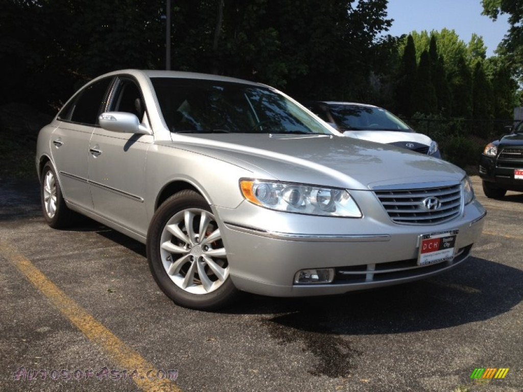 2008 Hyundai Azera Limited In Silver Frost 254396