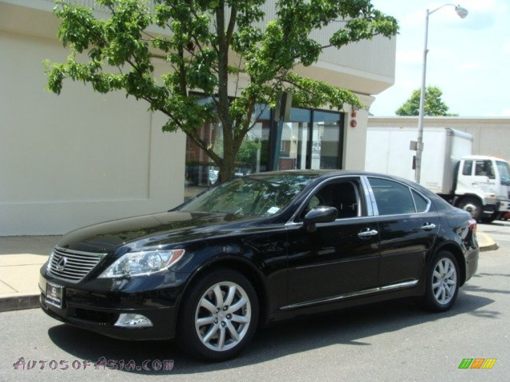 2009 lexus ls 460 awd in obsidian black 002927 autos. Black Bedroom Furniture Sets. Home Design Ideas
