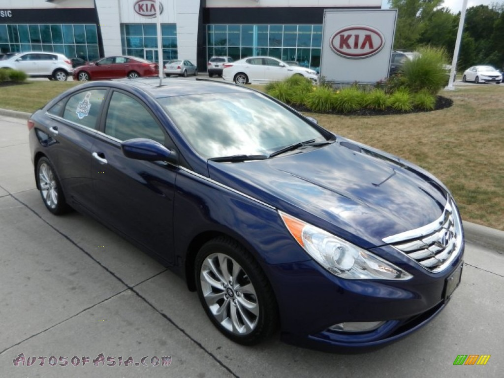 2012 hyundai sonata se 2 0t in indigo night blue 311899 autos of asia japanese and korean. Black Bedroom Furniture Sets. Home Design Ideas