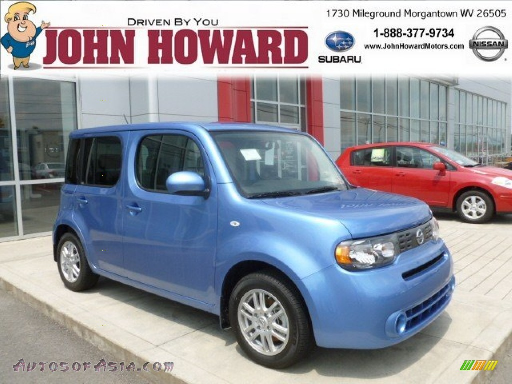 2012 nissan cube 1 8 s indigo limited edition in bali blue for Mileground motors in morgantown wv