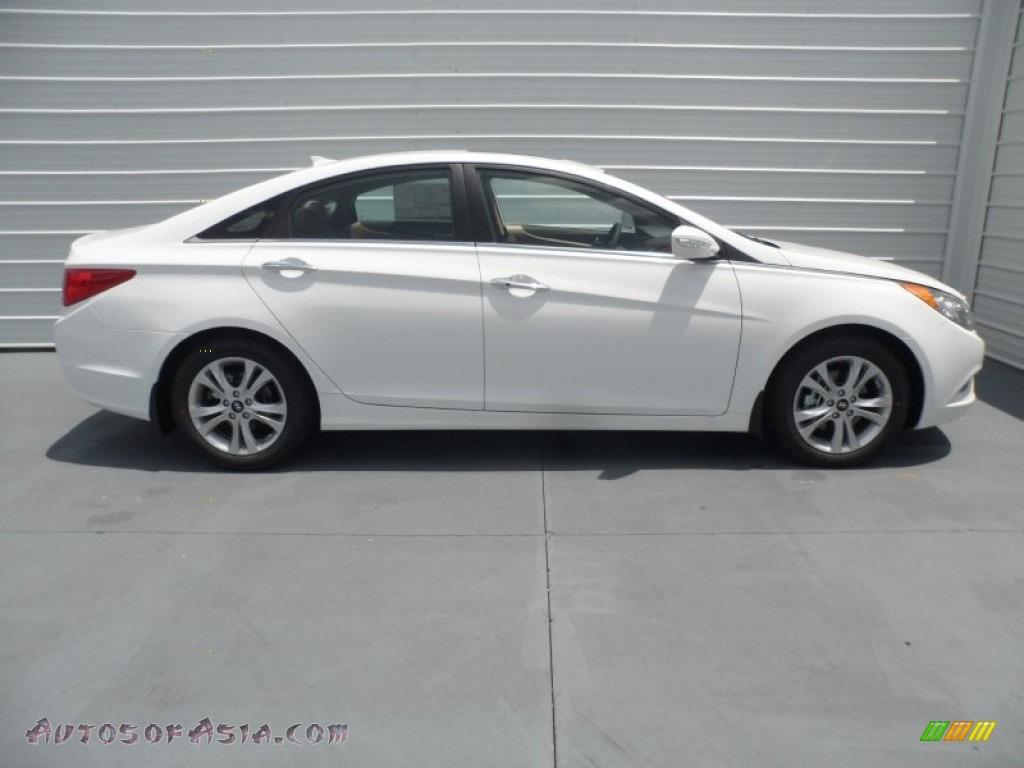 2013 Hyundai Sonata Se In Shimmering White 552570