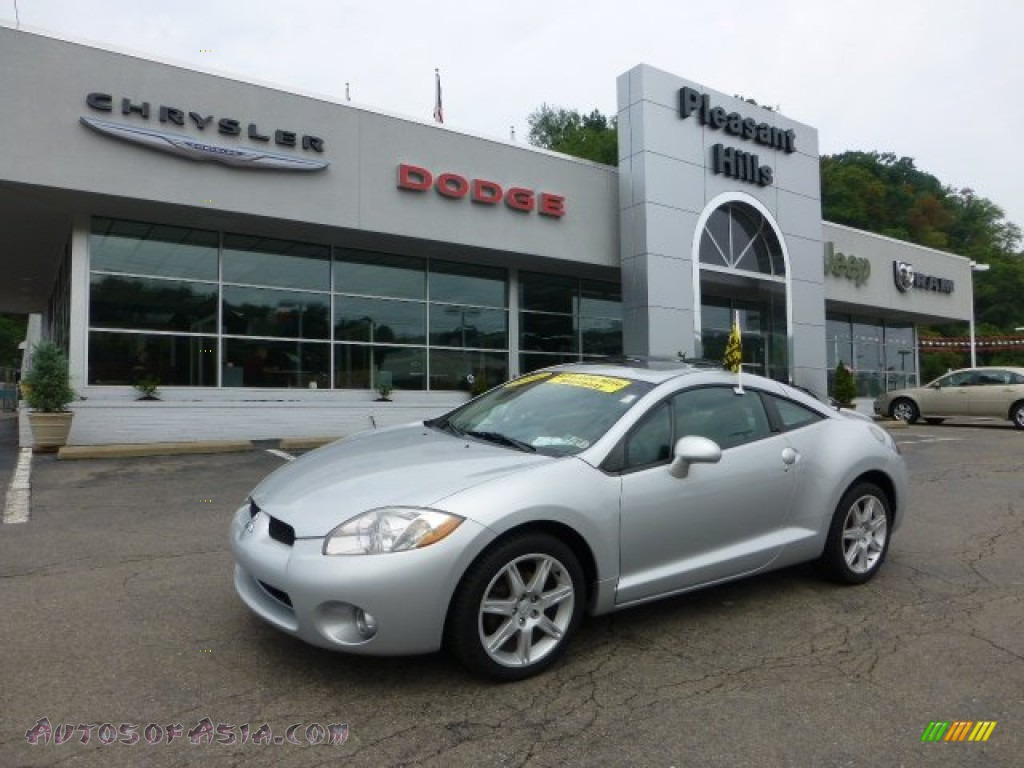2006 mitsubishi eclipse gt coupe in liquid silver metallic 003701 autos of asia japanese. Black Bedroom Furniture Sets. Home Design Ideas
