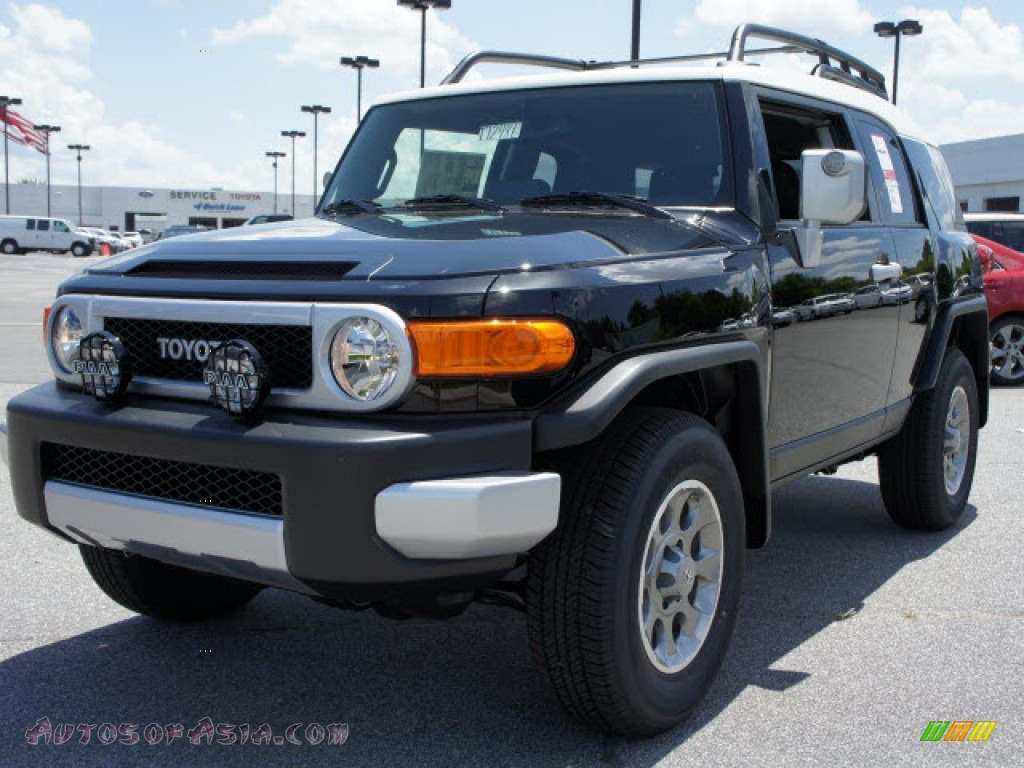 2012 toyota fj cruiser 4wd in black 143918 autos of asia japanese and korean cars for sale. Black Bedroom Furniture Sets. Home Design Ideas