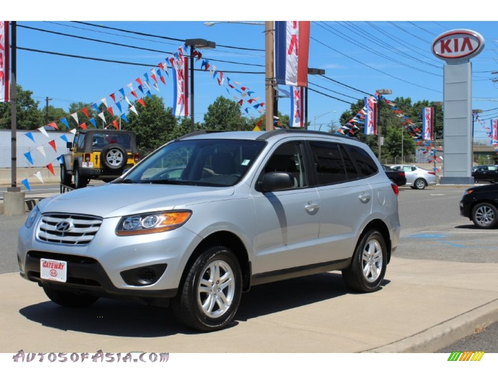 2010 hyundai santa fe gls in radiant silver 352165 autos of asia japanese and korean cars. Black Bedroom Furniture Sets. Home Design Ideas