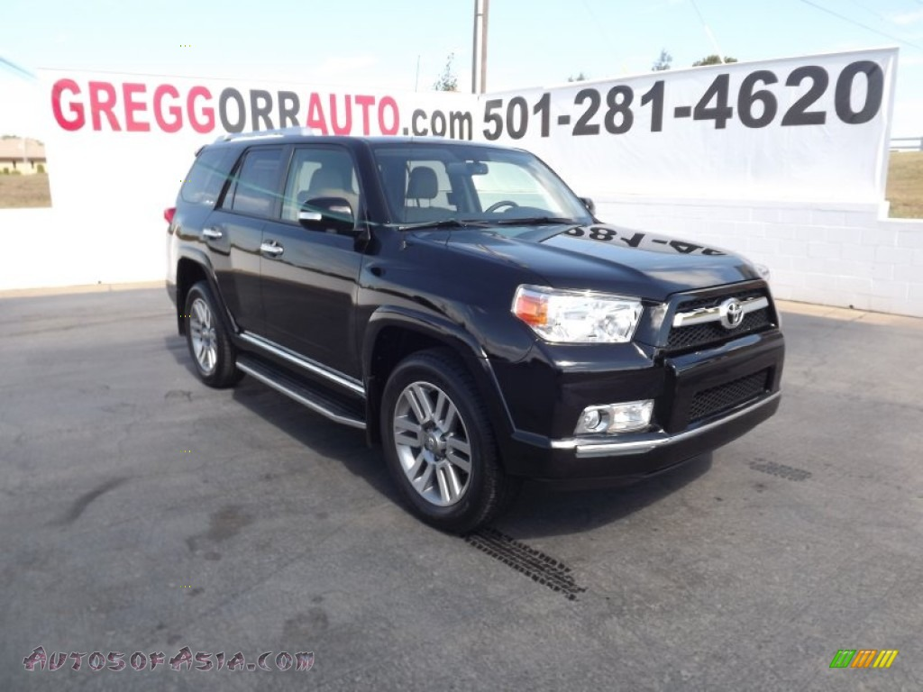 2012 Toyota 4runner Limited 4x4 In Black 103875 Autos