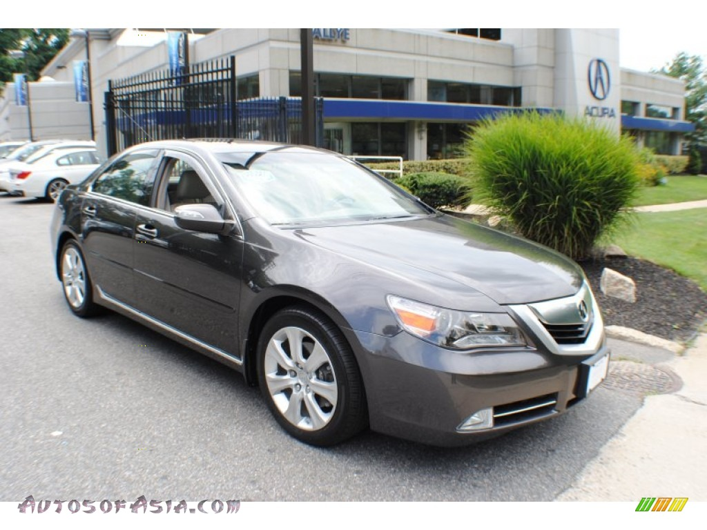 2010 acura rl technology in grigio metallic 002471 autos of asia japanese and korean cars. Black Bedroom Furniture Sets. Home Design Ideas