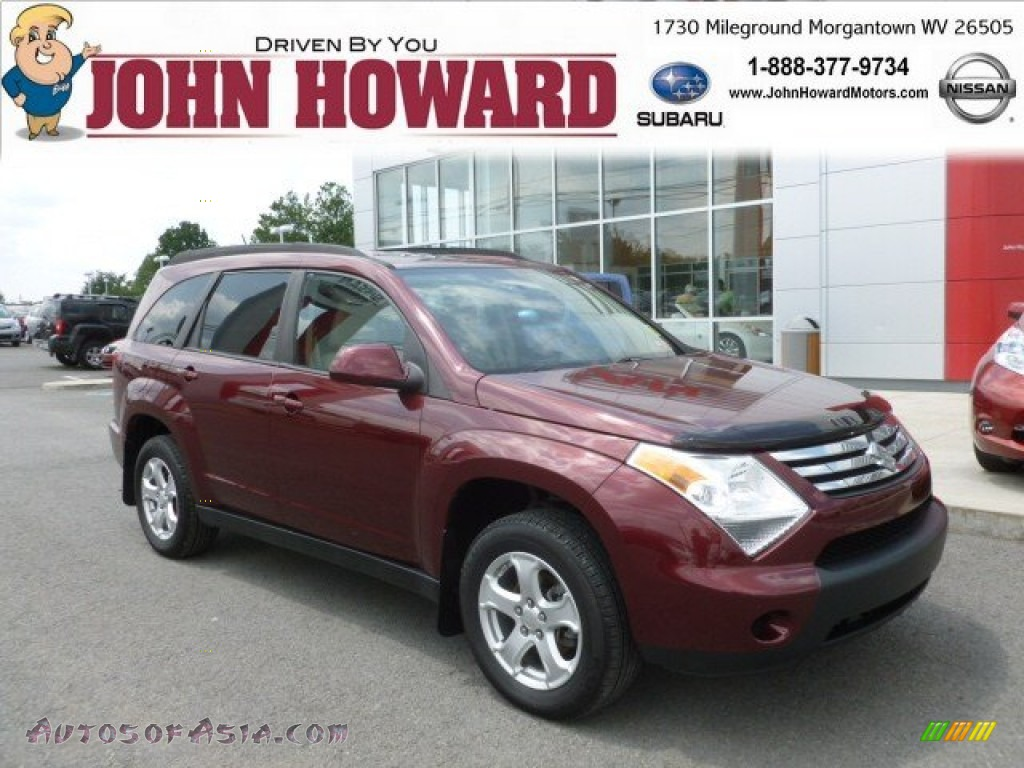 2008 Suzuki Xl7 Awd In Cranberry Red Metallic 104849