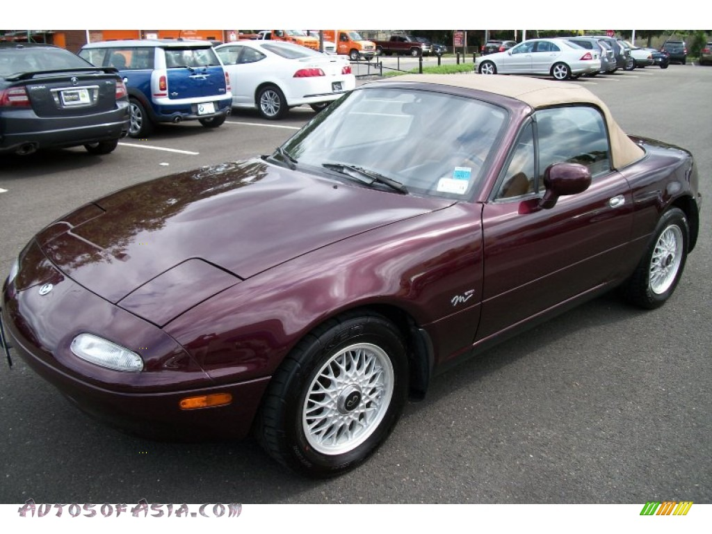 1995 mazda mx 5 miata m edition roadster in purple photo 4 609471 autos of asia japanese. Black Bedroom Furniture Sets. Home Design Ideas