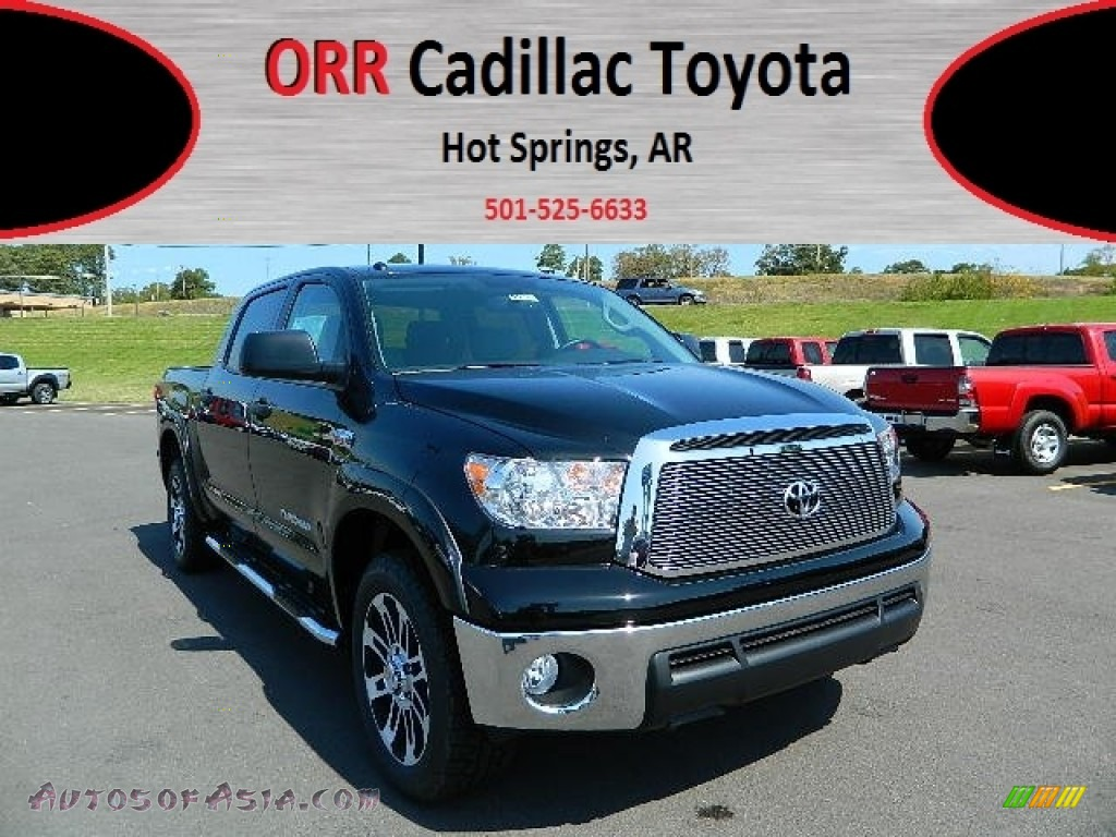 2012 toyota tundra tss crewmax 4x4 in black 258309 autos of asia japanese and korean cars. Black Bedroom Furniture Sets. Home Design Ideas