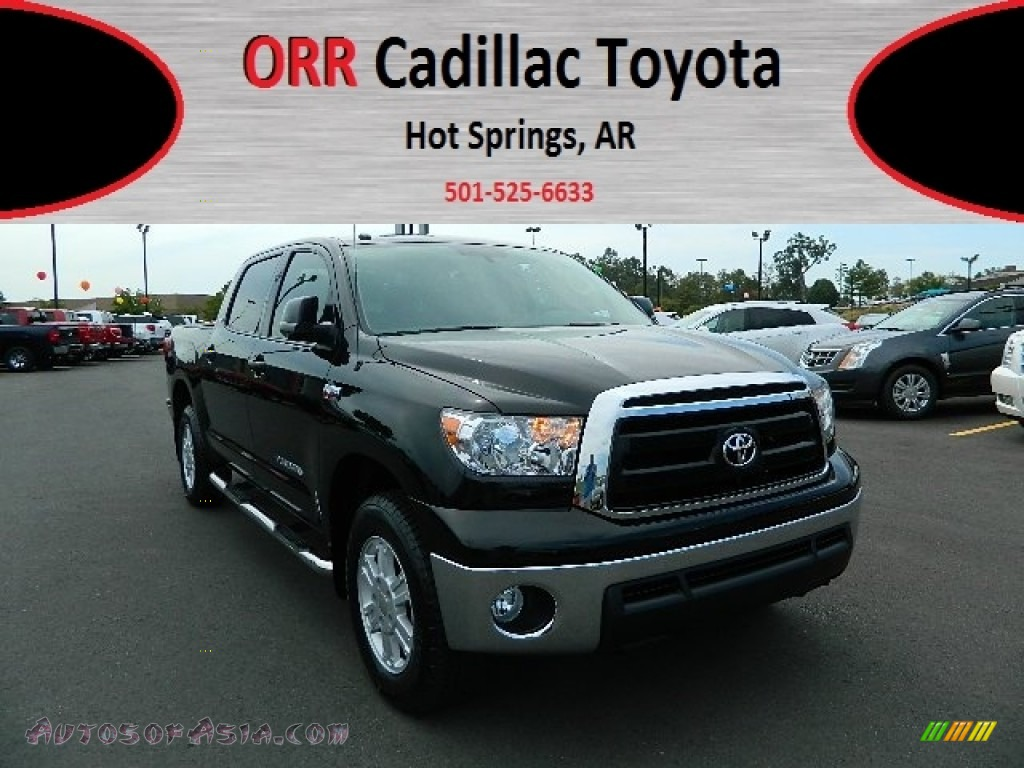 2010 toyota tundra sr5 crewmax 4x4 in black 144052 autos of asia japanese and korean cars. Black Bedroom Furniture Sets. Home Design Ideas