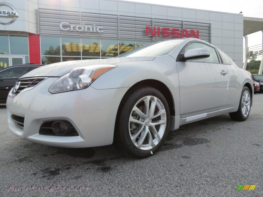 2012 nissan altima 3 5 sr coupe in brilliant silver 263168 autos of asia japanese and. Black Bedroom Furniture Sets. Home Design Ideas