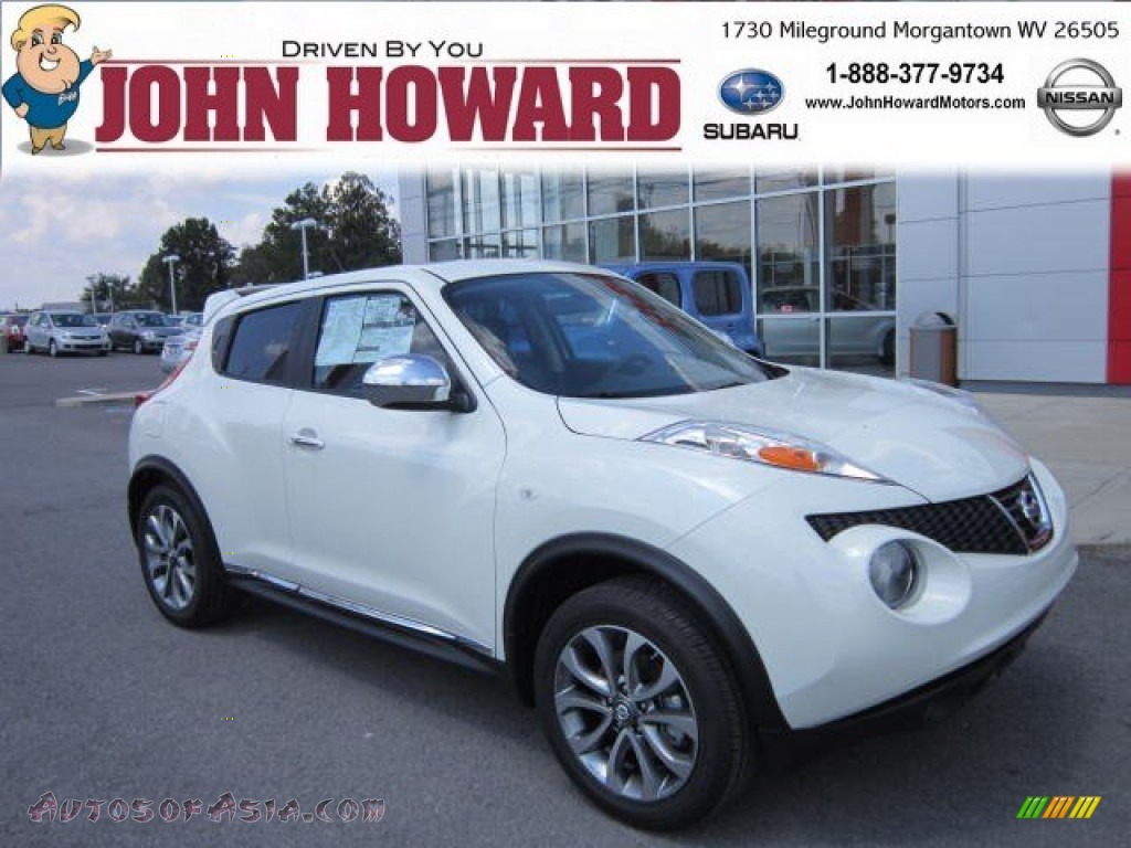 2012 Nissan Juke Sl Awd In White Pearl 124464 Autos Of