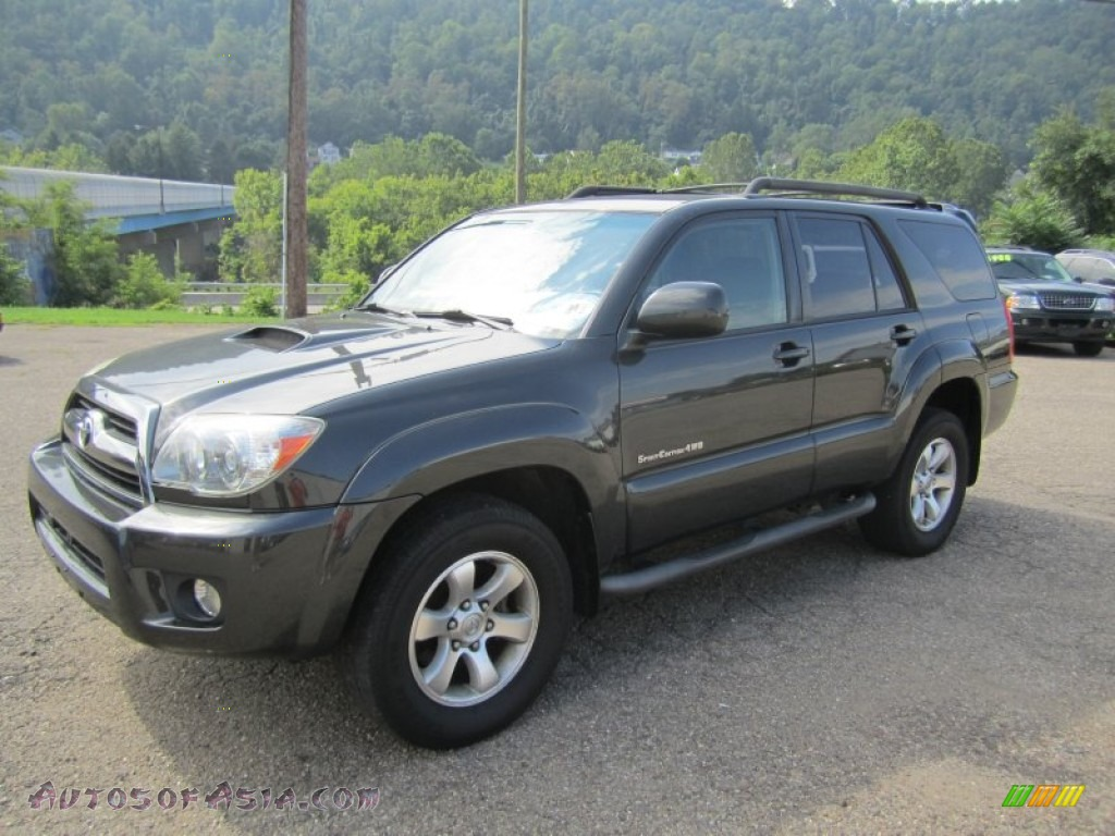 2006 toyota 4runner sport edition 4x4 in galactic gray mica 062300 autos of asia japanese. Black Bedroom Furniture Sets. Home Design Ideas