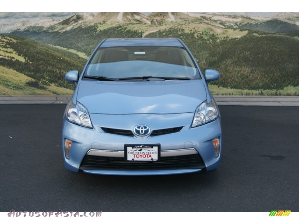 2012 toyota prius plug in hybrid in clearwater blue metallic photo 3 016589 autos of asia. Black Bedroom Furniture Sets. Home Design Ideas