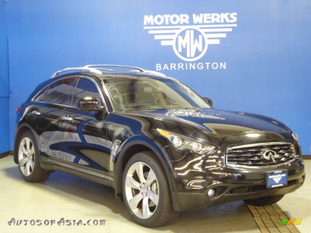 2010 infiniti fx 50 s awd in black obsidian 830345 for Motor werks barrington used cars