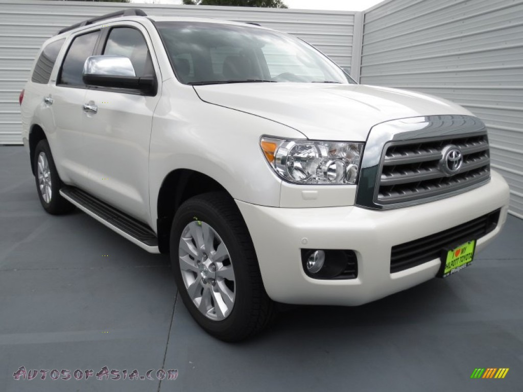 2012 toyota sequoia platinum 4wd in blizzard white pearl photo 17 072135 autos of asia. Black Bedroom Furniture Sets. Home Design Ideas
