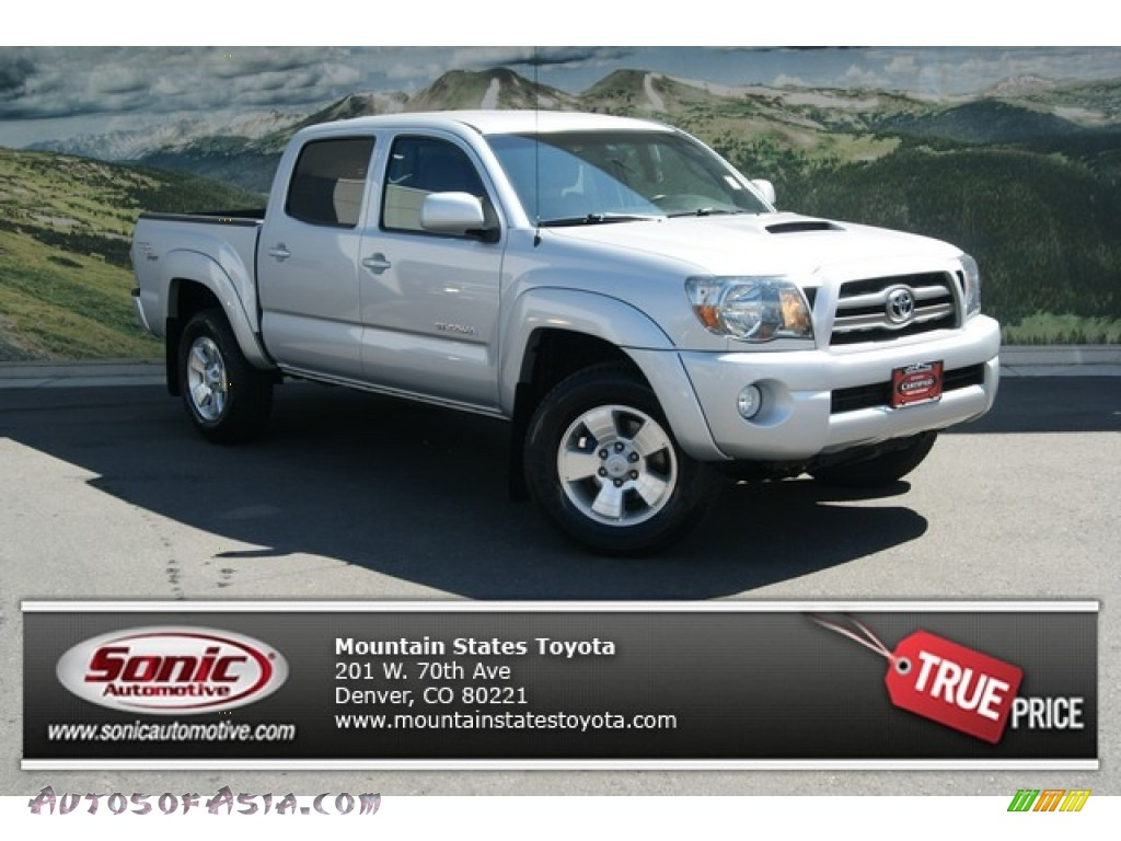 2010 toyota tacoma v6 sr5 trd sport double cab 4x4 in silver streak mica 052404 autos of. Black Bedroom Furniture Sets. Home Design Ideas