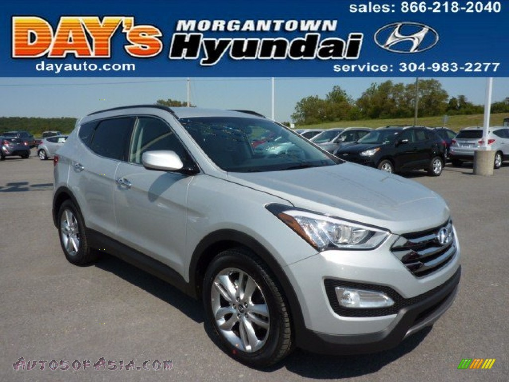 2013 hyundai santa fe sport 2 0t awd in moonstone silver. Black Bedroom Furniture Sets. Home Design Ideas