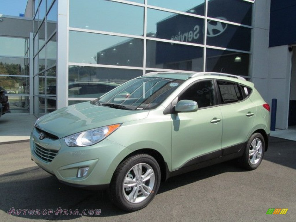 2013 hyundai tucson gls awd in kiwi green photo 7 583462 autos of asia japanese and. Black Bedroom Furniture Sets. Home Design Ideas