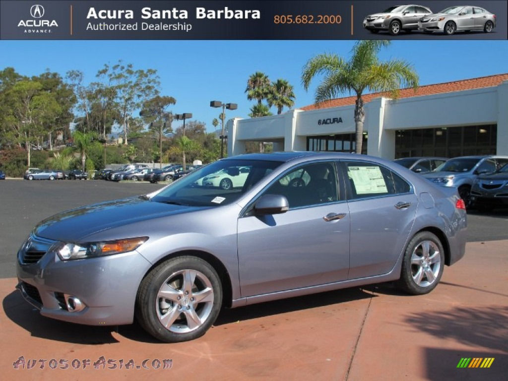 2012 Acura Tsx Sedan In Forged Silver Metallic 027186